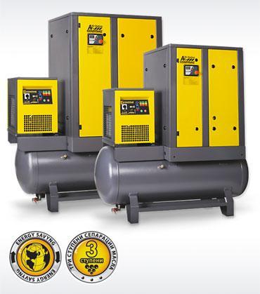 Компрессоры серии AirStation производительностью до 3,6 м3/мин cо встроенным осушителем