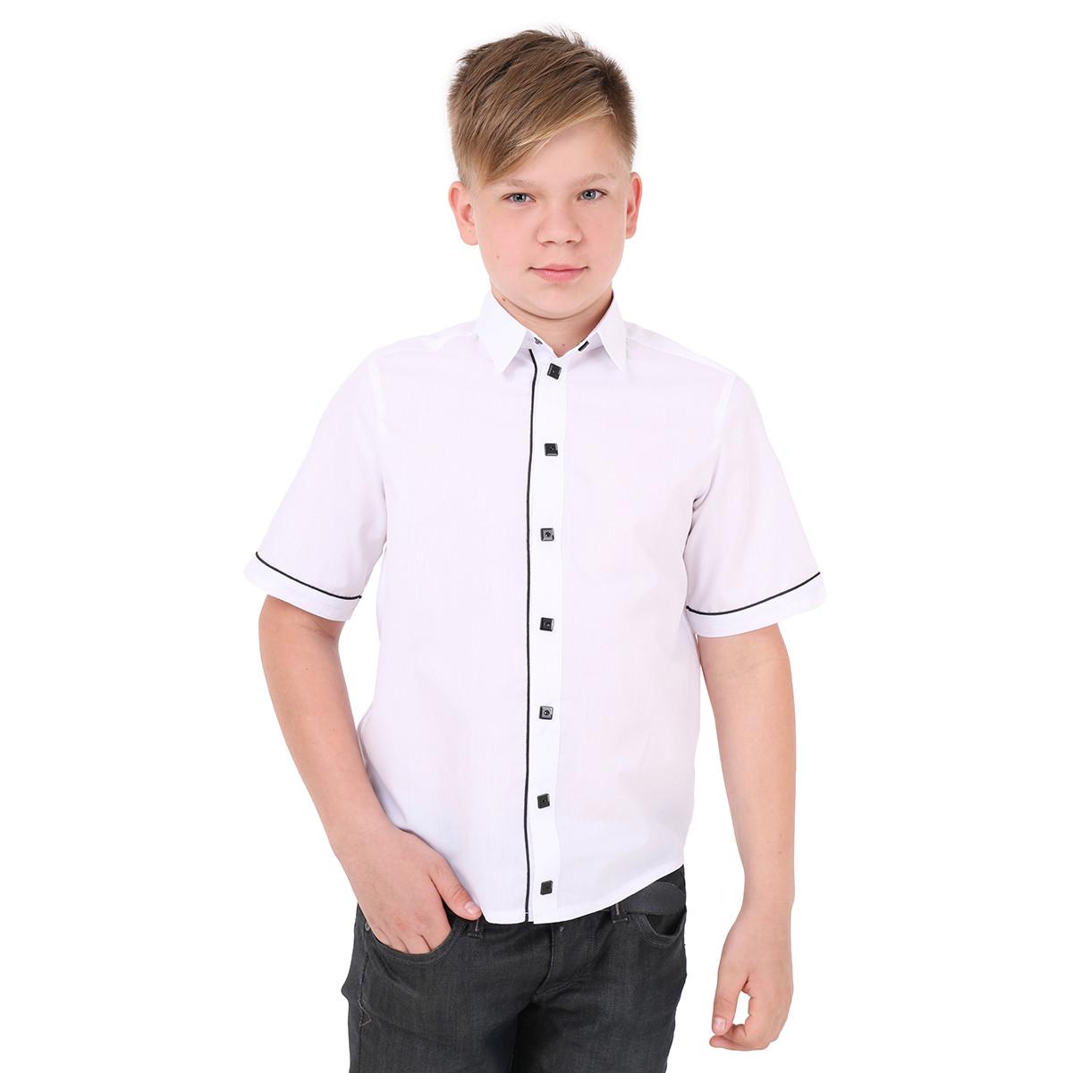 Рубашка для мальчика KEVIN с коротким рукавом