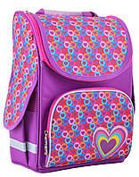 Рюкзак каркасный PG-11 Hearts pink, 34*26*14