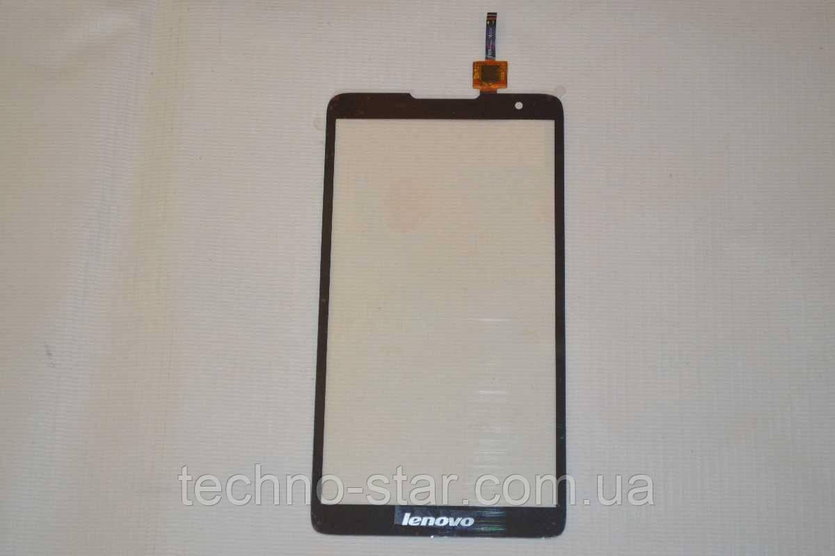 Оригинальный тачскрин / сенсор (сенсорное стекло) для Lenovo A889 (черный цвет, версия 2)
