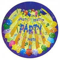 Бумажные тарелки диам.23см Party  (уп. 10шт)