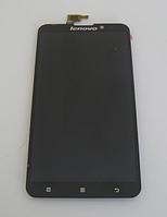 Оригинальный дисплей (модуль) + тачскрин (сенсор) для Lenovo S939 | S938 (черный цвет)