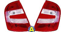 Фонарь задний левый и правый на Шкода Фабиа (Skoda Fabia) 2005-2007