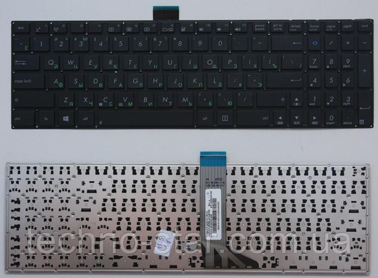 Клавиатура для ноутбука Asus X502 X502C X551 X551C X553 X555 X555L S500 S500C TP550 TP550LA русская раскладка
