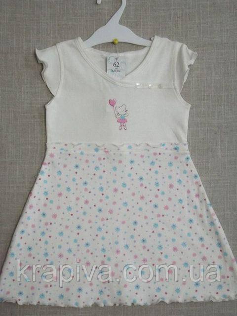 Платье для новорожденных, грудничков, детей, 100% хлопок