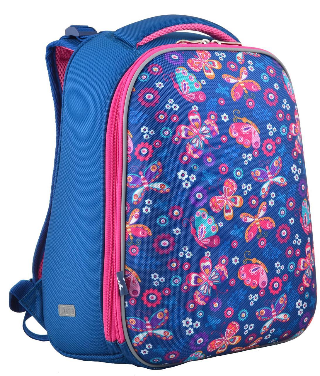 Рюкзак в школу 1 Вересня H-12-1 Butterfly,  554488, 16 л, синий