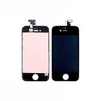 Дисплей для APPLE iPhone 4s с чёрным тачскрином Н/С