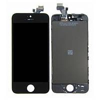 Дисплей для APPLE iPhone 5 с чёрным тачскрином Н/С