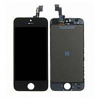 Дисплей для APPLE iPhone 5S с чёрным тачскрином Н/С