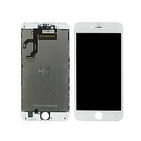 Дисплей для APPLE iPhone 6s Plus с белым тачскрином high copy