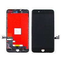 Дисплей для APPLE iPhone 8 Plus с чёрным тачскрином high copy