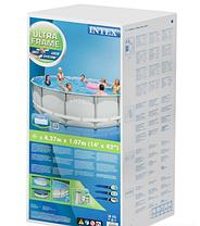 Круглый каркасный бассейн Intex 28310 Ultra Frame (427х107), фото 3