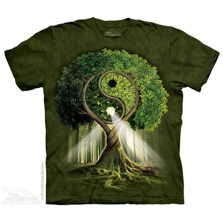 Футболка The Mountain - Yin Yang Tree