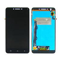 Дисплей для LENOVO A6020a46 Vibe K5 Plus с чёрным тачскрином