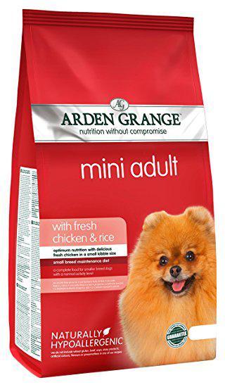 Arden Grange (Арден Грендж) Mini Adult Dog Chicken Rice Корм для взрослых собак мелких пород с курицей и