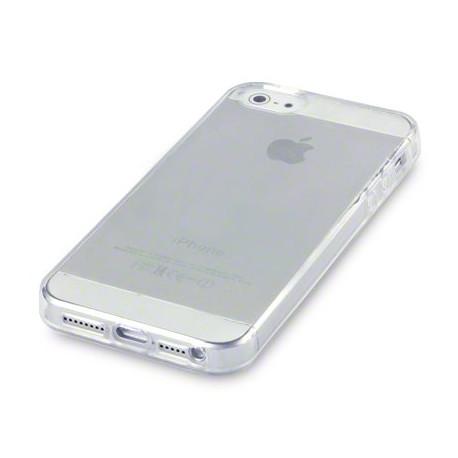 Прозорий силіконовий чохол накладка 0,3 мм для iPhone 5/5s/se