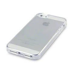 Силиконовый прозрачный чехол накладка 0,3 мм для iPhone 5/5s/se