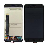 Дисплей для XIAOMI Mi5X/Mi A1 с чёрным тачскрином