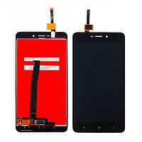 Дисплей для XIAOMI Redmi 4A с чёрным тачскрином