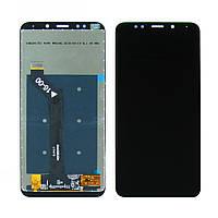 Дисплей для XIAOMI Redmi 5 Plus с чёрным тачскрином