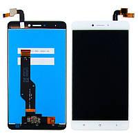 Дисплей для XIAOMI Redmi Note 4X с белым тачскрином