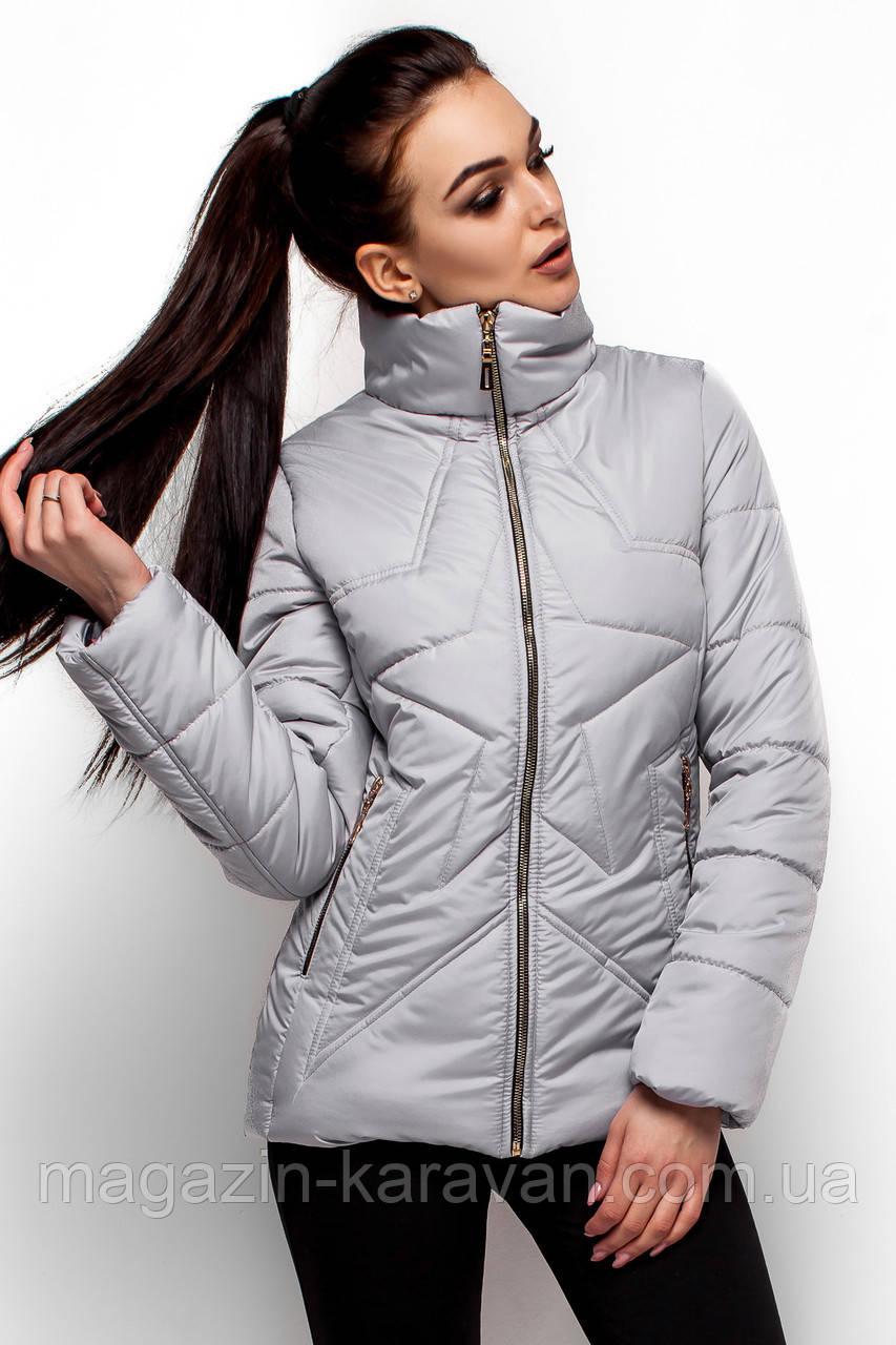 Зимняя куртка Мерлин серый (S,M,L)