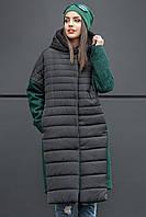 Модное зимнее пальто Susie бутылка(42-48), фото 1