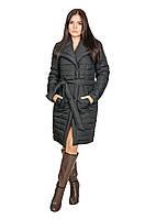 Зимняя куртка женская Севилья черный (44-52)