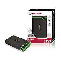 "Внешний жесткий диск 2.5"" 1TB Transcend StoreJet 25M3 (TS1TSJ25M3S), USB 3.0"