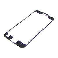 Дисплейная рамка для APPLE iPhone 6s чёрная с термоклеем Н/С