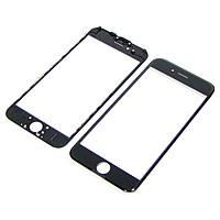 Стекло тачскрина для APPLE iPhone 6 чёрное с рамкой и OCA плёнкой Н/С
