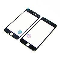 Стекло тачскрина для APPLE iPhone 6 чёрное с рамкой и OCA плёнкой оригинал (TW)