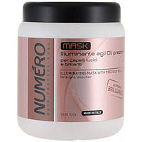 Brelil NUMERO BRILLIANCE Маска для волос с ценными маслами 1000 мл