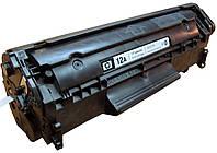 Картридж HP Q2612A для принтера LJ 1010, 1012, 1015, 1018, 1020, 1022, 3015, 3020, 3030 совместимый (аналог)