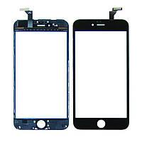 Тачскрин для APPLE iPhone 6 Plus чёрный с дисплейной рамкой