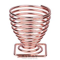 KATTI Подставка для спонжа - яйцо metal 08 Grose S розовое золото квадрат, фото 3