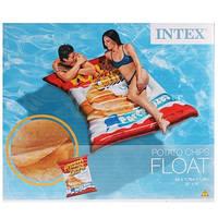 Надувной матрас для детей и взрослых ЧИПСЫ Intex - 58776