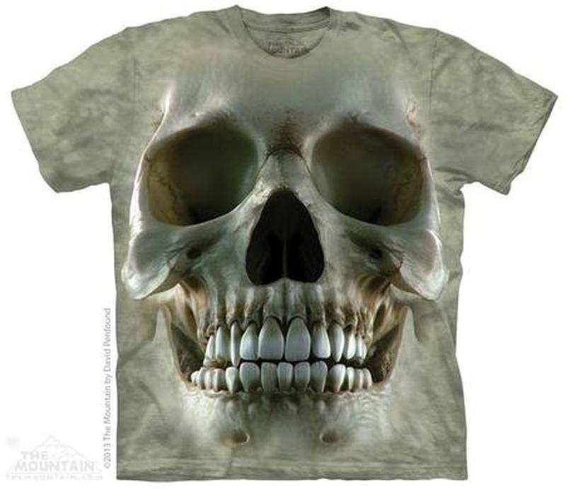 Футболка The Mountain - Big Face Skull