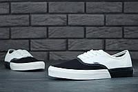 "Кеди текстильные унисекс Vans Authentic 2018 Black/White ""Черно-белые"" р. 5-11 (36-44), фото 1"