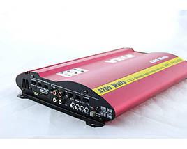 Усилитель мощности звука  CAR AMP MRV 905 usb+ SD слот басс 12Дб, фото 3