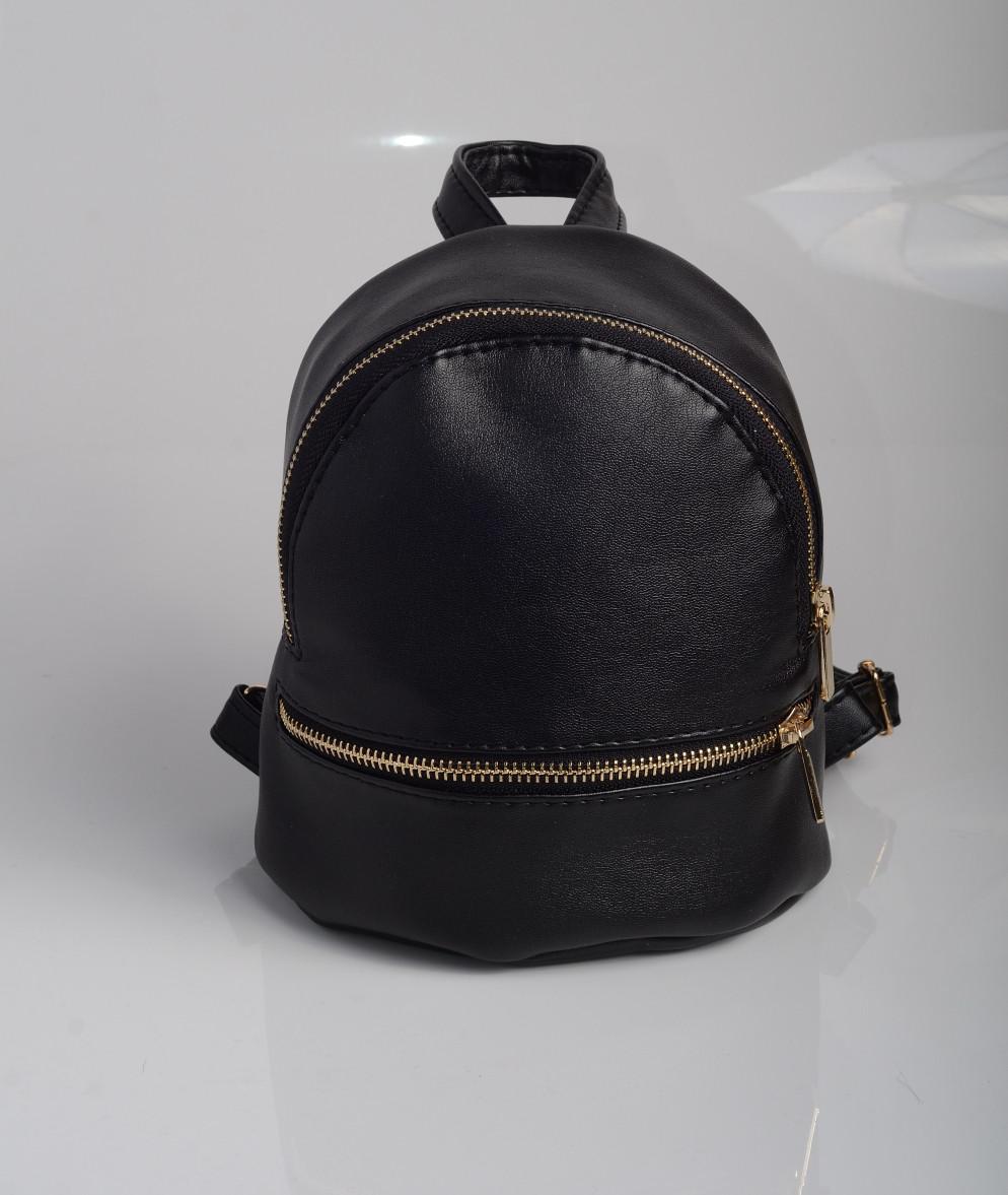 1b3f02724638 Прогулочный Рюкзак Чёрный для Женщин с Экокожи — в Категории