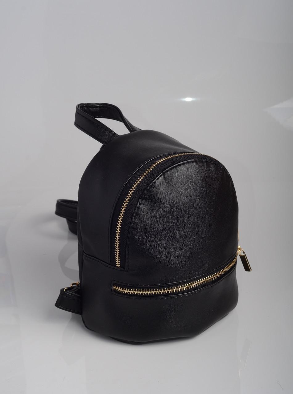 Рюкзак Sambag Liubava  miniSG черный глянец