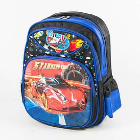 Школьный рюкзак для мальчика с жесткой спинкой - черный - 11-3664