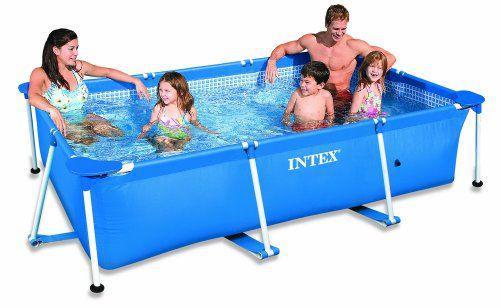 Каркасный бассейн Intex Rectangular Frame 150х220х60 см (28270)