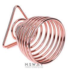 KATTI Подставка для спонжа - яйцо metal 09 Grose T розовое золото треугольник, фото 2