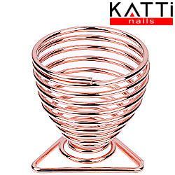 KATTI Подставка для спонжа - яйцо metal 09 Grose T розовое золото треугольник