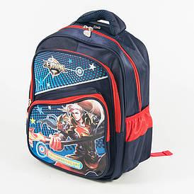 Школьный рюкзак для мальчика с жесткой спинкой - синий - 14-1713