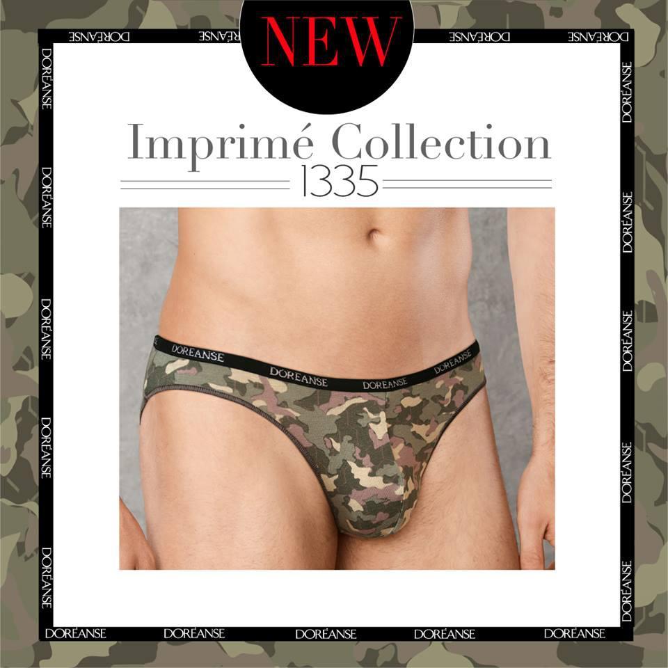 Мужские трусы-слипы Doreanse Camouflage 1335