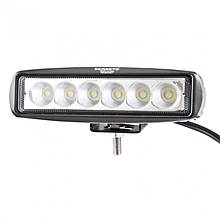 BOL0203F Доп LED фара BELAUTO 1320Лм (рассеивающий)