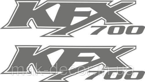 Виниловая наклейка -KFX700